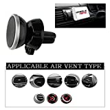 New WheelsNBits® 360º Degree Rotation Magnetic Grip Universal Fitment For most Car Van SUV Truck Air Vent the perfect Cradle Holder For Mobile Phones GPS Tablets Smartphone From Near enough All leading Brand iPd iPhone 4,5 6 6s 7 7 plus 8 X Samsung S7 S8 Note Plus many others