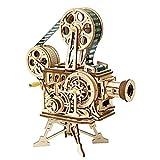 7°MR arredamento casa Figurine in miniatura fai-da-te Decorazioni for la casa Proiettore di film vintage Modello di assemblaggio Palmare Film Tavolo Decorazione