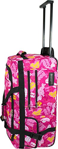 normani Jumbo Reisetasche/Big-Travel Koffer mit Rollen - V 4 5. Genration, XXL Farbe Crazy Child