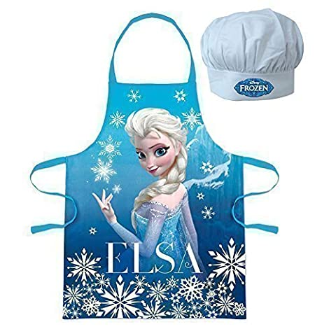 Disney Ensemble toque de chef et tablier Motif La Reine