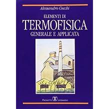 Elementi di termofisica generale e applicata