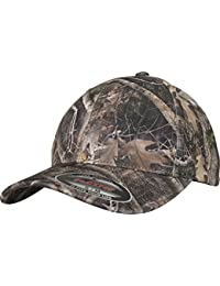 Flexfit True Timber Kanati Camo Cap - besonderes Camouflage Muster auf rundum geschlossener Kappe