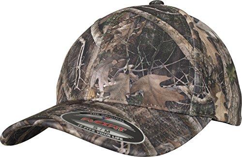 Kanati Camo Cap - besonderes Camouflage Muster auf rundum geschlossener Kappe (Jagd Camo-blätter)