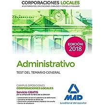 Amazon.es: Administrativos de Corporaciones Locales