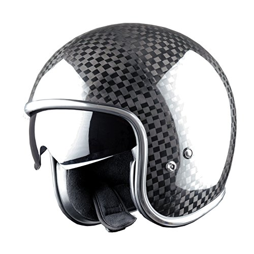 Astone Helmets Jethelm, Vintage, Carbonfaser, Carbon, M