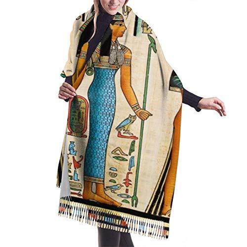 Sciarpa coperta da donna dell'antico egitto sciarpe moda scialle avvolgenti scialle cape regalo regalo di natale per mamma sorella ragazza