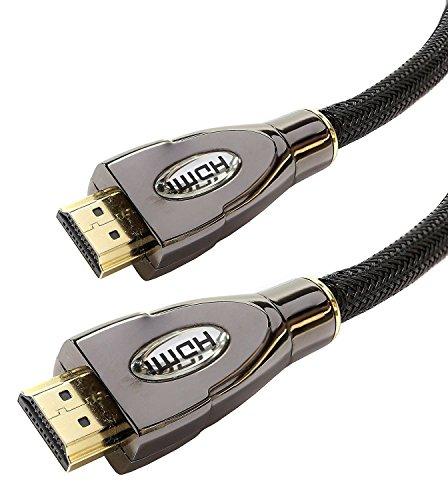 Laptone Pro Gold – Hochgeschwindigkeits-HDMI-Kabel, 15 m lang – v2.0/1.4a, 3D, 2160p, Ultra-HD 4K mit 60Hz, Ultra-HD, mit Ethernet, Audio-Return-Channel, für PS4,Sky, usw.