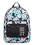Roxy Happy at Home-Sac à Dos pour Fille 8-16 Ans Moyen Format, Anthracite S Crystal...