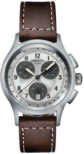 Hamilton Herren-Uhren Aviation Chronograph H76412553