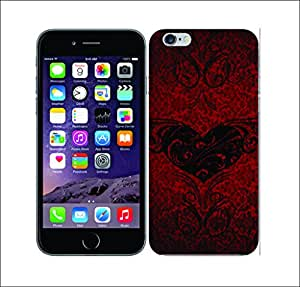 Galaxy Printed 2146 Heart Collection Black Poison Hard Cover for Apple Iphone 6 Plus