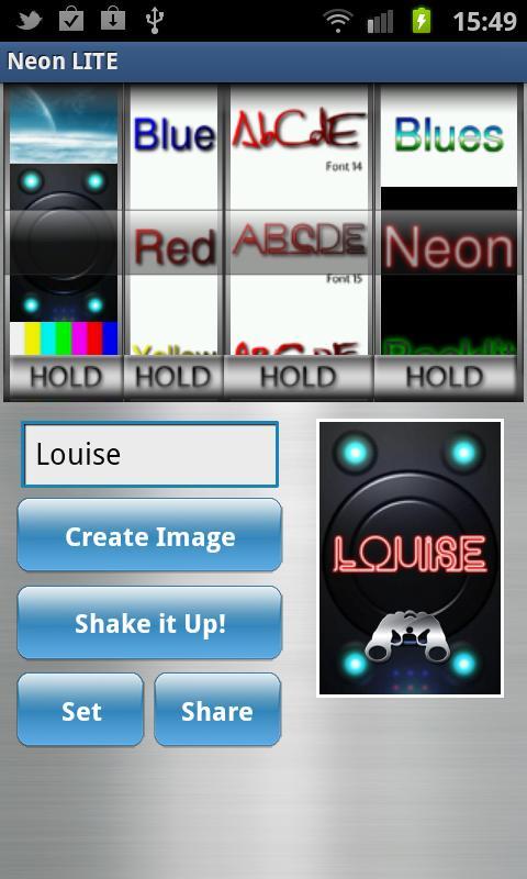 Neon Custom Wallpaper Maker: Amazon co uk: Appstore for Android
