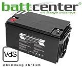 12V 65Ah RPower® VdS-Longlife-Batterie AGM Batterie mit VdS Prüfzeichen zugelassen für professionelle Anwendungen wie z. B. Sicherheitstechnik, Alarmanlagen, Notstrom und Nachtbeleuchtungen