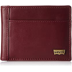 Levis Maroon Men's Wallet (12848-0002)