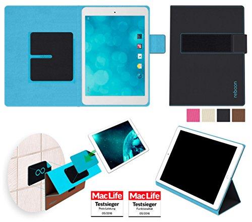 reboon Hülle für Blaupunkt Polaris QC Tasche Cover Case Bumper | in Schwarz | Testsieger