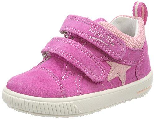 Superfit Baby Mädchen Moppy Sneaker, Pink (Pink Kombi), 26 EU