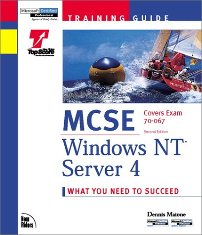 MCSE Training Guide: Windows NT Server 4 (Training Guides) por Dennis Maione