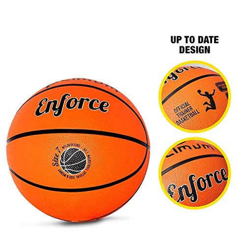 OPTIMUM Enforce Basketball Orange Size 7 Unisex Adulto