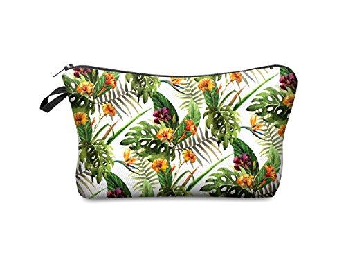 Beauty Case, borsa da viaggio, borsetta da toilette sacco sacchetto bagno per cosmetici trucco make up motivi diversi, Kosmetiktasche KT-002-050:KT-043 fiore bunt