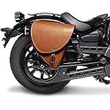 Satteltasche Moto Guzzi Nevada 750 Braun Rechts
