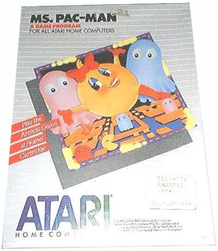 MS. Pac -Man ( Atari 800/XL/XE)