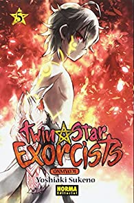 Twin Star Exorcists 05 par Yoshiaki Sukeno