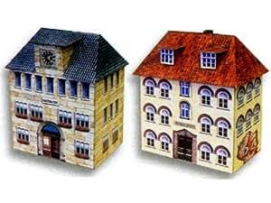 Heki - Avion Miniature - Ecole Et Mairie Ho