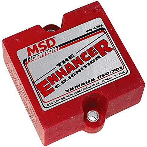 MSD 4253 Watercraft Enhancer Ignition Control Box by MSD - Msd Ignition Box
