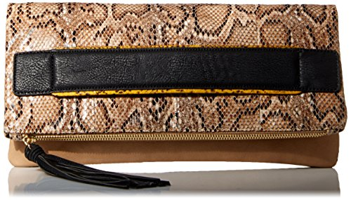 BCBGeneration Ready To Roll Clutch Donna Beige