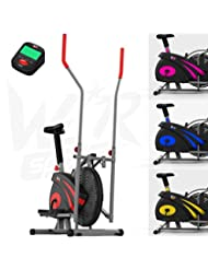 We R Sports 2-IN-1 Elliptical Cross Trainer & Exercise Bike Indoor Home Fitness Cardio Workout Machine
