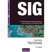 SIG - La dimension géographique du système d'information - 2e éd.