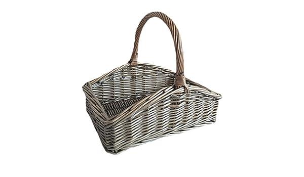 Large Slope Sided Antique Wash Trug garden Basket