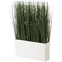 IKEA FEJKA - planta en maceta artificial con el pote, hierba