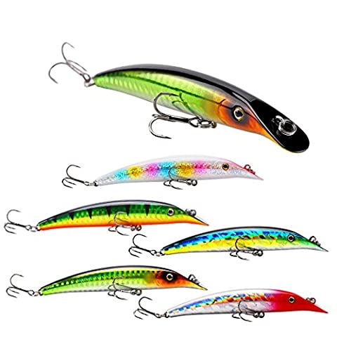 SeaKnight Minnow Fishing Lures Topwater Floating Sea Fishing Lures For Bass,Pike