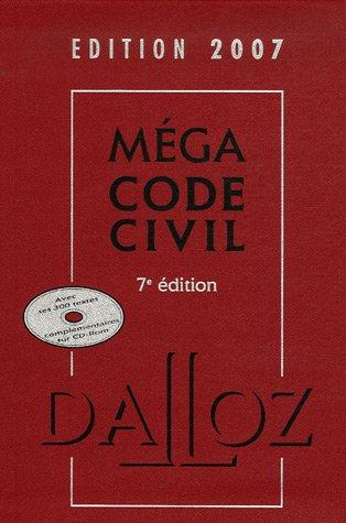 Méga Code civil (1Cédérom) par Xavier Henry