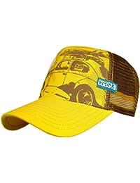 COASTAL 80 Trucker Cap SURFER cappellino da baseball Maggiolino BEATLE -  giallo marrone baf231f970c3