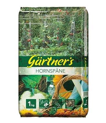 Gärtner's Hornspäne, Naturdünger, Gartendünger 1 kg von Gärtner's auf Du und dein Garten
