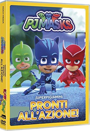 Pj Masks - Super Pigiamini Pronti All'Azione!