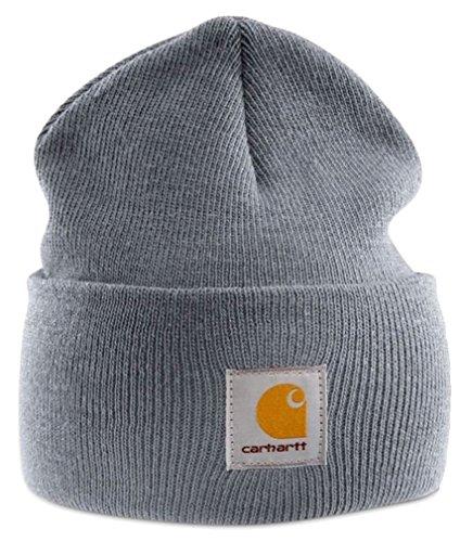 Carhartt Watch Hat Beanie A18 Strickmütze (grau)