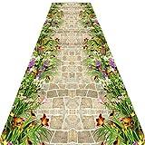 HGXC Teppich Korridor-Läufer-Teppichboden, Soft-Touch-Vlies-Fußmatte ohne Größe (größe : 0.8 * 4m)