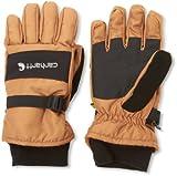 Best Carhartt Gloves For Men - Carhartt Men's W.P. Waterproof Insulated Work Glove, Brown/Black Review