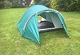 StyleExpedition Zelt 1 2 3 Personen Firstzelt Wurfzelt grün Camping 2.200 Ws 2 EINGÄNGE Schlafkabine Moskitonetz