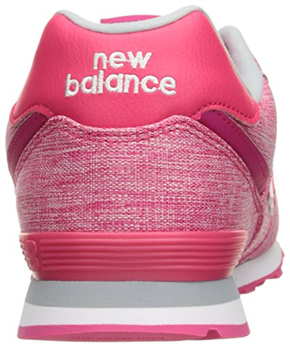 New Balance 574 High Visibility, Baskets Basses Mixte Enfant Violet (Purple)