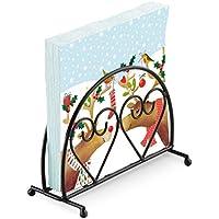 renne vischio Natale 20 x tovaglioli di carta a 3 veli   nero verticale  cuore portatovaglioli 9bd37fe2d98b