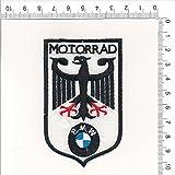 Applikation Aufbügler Patches Stick Emblem Aufnäher Abzeichen ''MOTORRAD BMW''