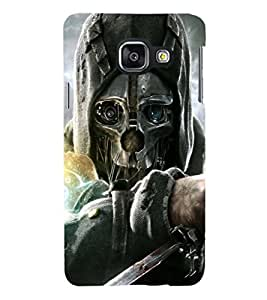 PRINTSHOPPII SKULL DEATH Back Case Cover for Samsung Galaxy A7 (2016) Duos
