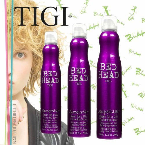 Tag Verdickung Spray (TIGI Bedhead Superstar Queen Für Ein Tag Verdickung Spray 3 x 300ml Multi Pack)