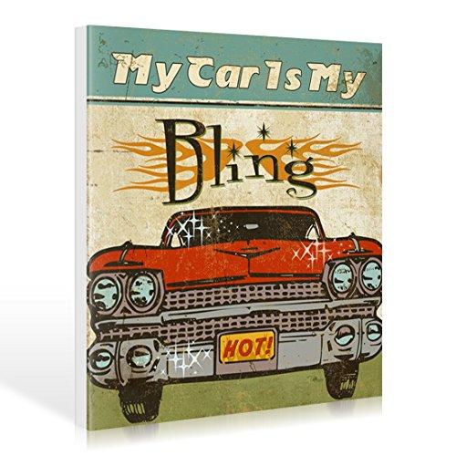 mancave-ii-my-car-is-my-bling-de-pela-studio-lienzo-110-x-110cm
