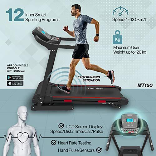 Zoom IMG-1 techfit mt150 tapis roulant motorizzato