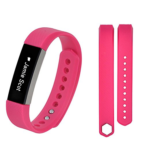 Preisvergleich Produktbild Hunpta Ersatz Handgelenk Band Silikon Armband Verschluss für Fitbit Alta HR Smart Watch Armband (Hot Pink)