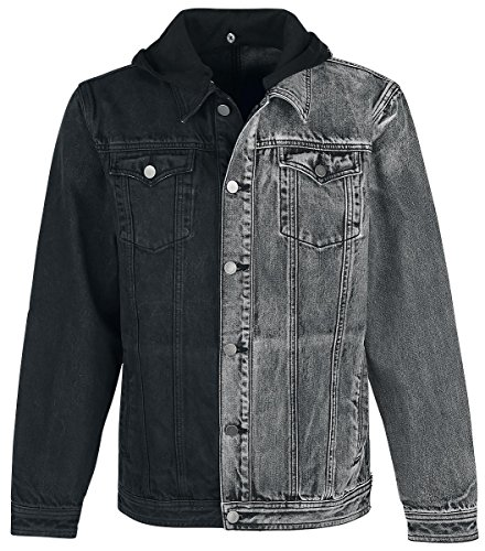 Doomsday Two Tone Jeans Jacket Giacca di jeans nero/grigio L